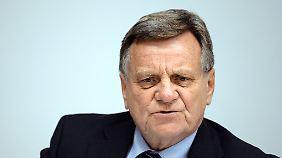 Hartmut Mehdorn wollte eigentlich am BER auf die Tube drücken.