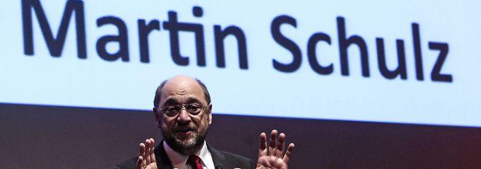 Schon jetzt eine zentrale Figur der europäischen Politik: EU-Parlamentspräsident Schulz vor seiner Wahl zum SPE-Spitzenmann in Rom.