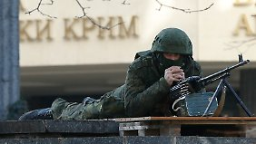 Merkel besorgt: Lage auf der Krim spitzt sich weiter zu