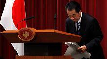 Kan richtet die Entschuldigung im Namen Japans an Südkorea.