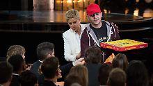 Essen für die Stars der Oscar-Show: Pizzalieferant bekommt 1000 Dollar Trinkgeld