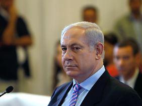 Netanjahu:Blockade absolut notwendig.