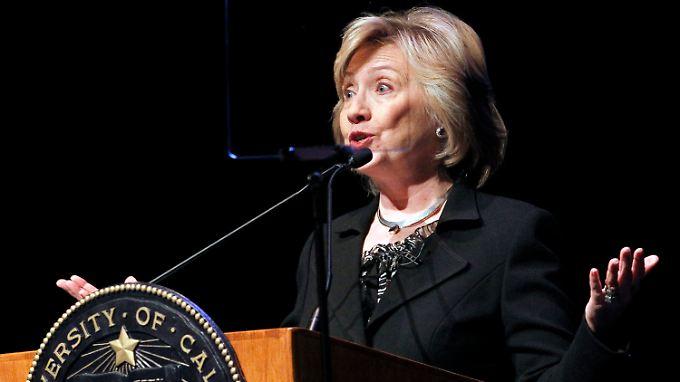 Drastische Worte zum Krim-Konflikt: Clinton vergleicht Putin mit Hitler