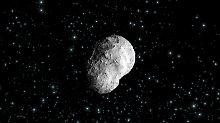 Mit Weltraumteleskop erstmals beobachtet: Asteroid zerbricht an eigener Rotation