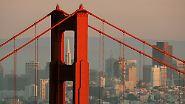 Kühne Konstruktion: Die Golden Gate Bridge