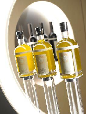 Olivenöl wird auch als grünes Gold bezeichnet.