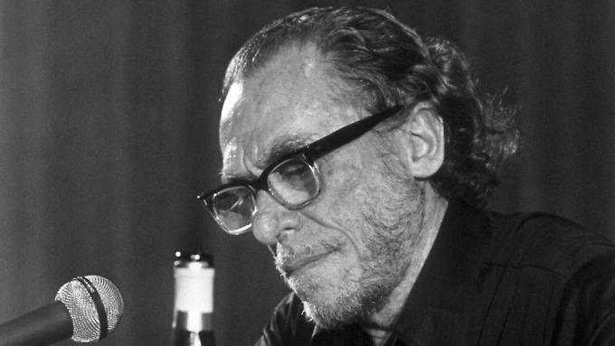 """Bukowski, der """"Dirty Old Man"""" der amerikanischen Literatur."""