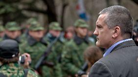 Krim-Premier Sergej Aksjonow: Aufsteiger mit angeblich krimineller Vergangenheit