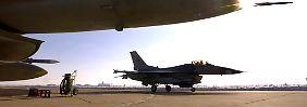 Verschärft die EU die Sanktionen?: USA verlegen Kampfflugzeuge nach Polen