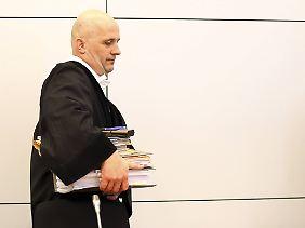 Richter Rupert Heindl hatte einen Hals auf die Medien.