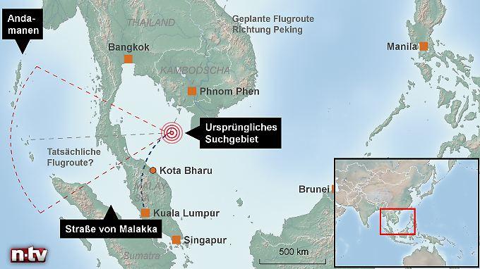 Verschwand die Boeing über Phuket?