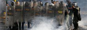 In Caracas herrschen erneut bürgerkriegsähnliche Zustände.
