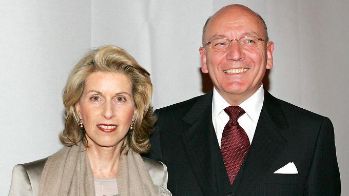 Madeleine Schickedanz und Ehemann Leo Herl 2006 in Berlin.