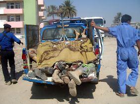 Als Gegner Al-Kaidas bekommen die Sahwa-Kämpfer die Brutalität besonders zu spüren.