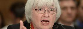 Alles hört auf die US-Notenbankchefin: Wird Janet Yellen die Geldspritzen der Währungshüter weiter drosseln?