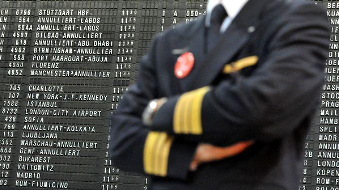 Lufthansa-Piloten treten in den Streik.