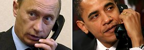 Hoffnung im Krim-Konflikt: Putin greift zum Telefonhörer