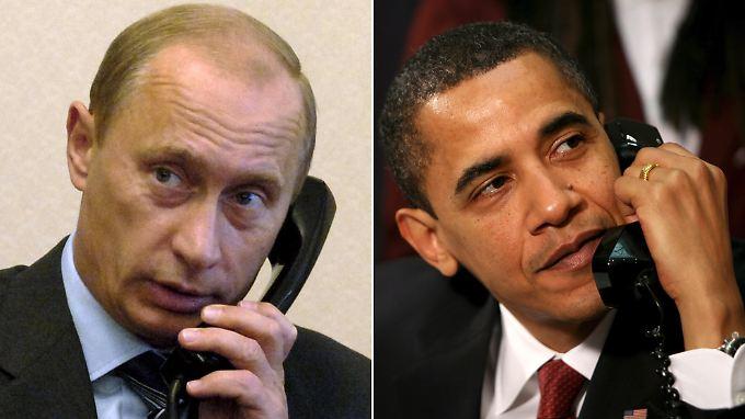 Telefonat mit Obama wegen Krim-Konflikt: Putin greift zum Telefonhörer