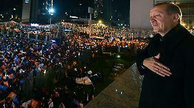 Erdogan kann sich durch das Wahlergebnis bestätigt fühlen.