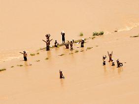 Die schlimmsten Flut seit 80 Jahren überschwemmte Pakistan.