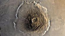 Der größte Vulkan im Sonnensystem: Strukturen auf Olympus Mons enträtselt