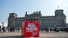 Rente mit 63 und Mütterrente: SPD und Union debattieren Rentenreform im Bundestag