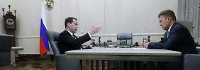 Zwei Milliarden Dollar Schulden: Russland fordert 100 Dollar mehr für Gas