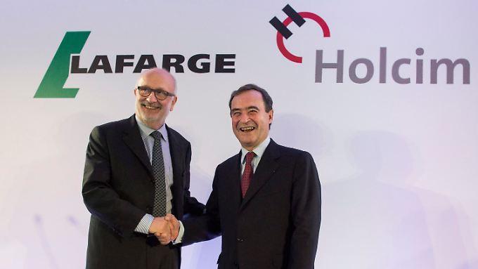 Mega-Fusion in der Zementbranche: Holcim und Lafarge tun sich zusammen