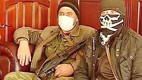 Ukraine von Spaltung bedroht: Prorussische Milizen nehmen Regierungsgebäude ein