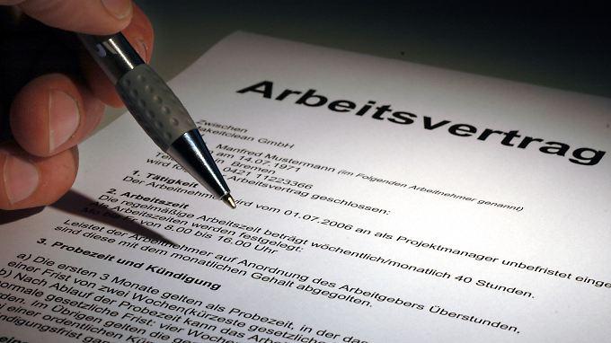 Unbefristete Arbeitsverträge werden immer mehr zur Ausnahme. Die CDU-Arbeitnehmer wollen das ändern.
