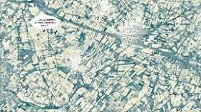 Ein Meer aus Plastik: Wie Felder überspannen Folien von Gewächshäusern riesige Gebiete in Südspanien.