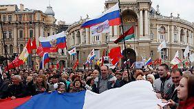 Ausweitung der Unruhen auf Odessa: Säbelrasseln im Ukraine-Konflikt wird immer lauter
