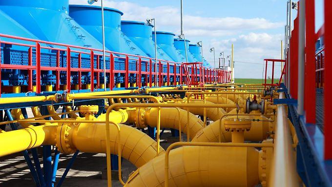 Über die Ukraine fließt ein Großteil des Erdgases, das Europa aus Russland bezieht.