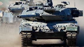 Nur die USA rüsten ab: Militärausgaben steigen weltweit