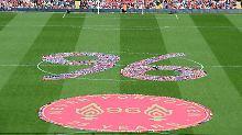 Gedenken an Stadionunglück: Liverpool trauert um Hillsborough-Opfer