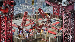 Geringes Wachstum: Weltwirtschaftslok China geht der Dampf aus