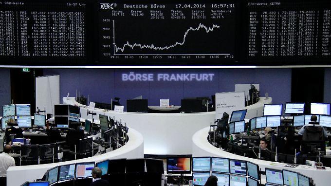 Aufwind in der zweiten Handelshälfte: Am Nachmittag entwickelt der deutsche Aktienmarkt ein dickes Plus.
