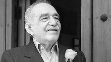 Márquez bei seinem letzten öffentlichen Auftritt Anfang März: Reporter sangen ihm ein Geburtstagsständchen.