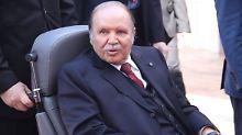 Bouteflika gilt als gesundheitlich schwer angeschlagen.