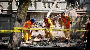 Behörden warnen vor Nachbeben: Mexiko wird von heftigen Erdstößen überrascht