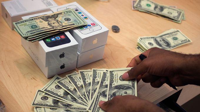 Umsatzplus dank iPhone: Rechnung von Apple geht auf