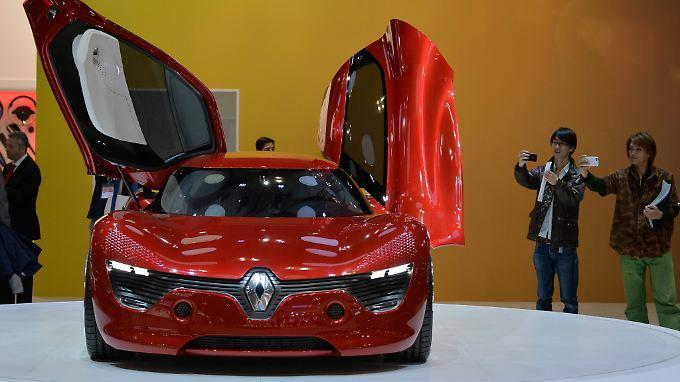 """Renault """"DeZir"""", ein Concept Car mit Elektroantrieb - ob es auf den Markt kommt, ist noch unklar."""