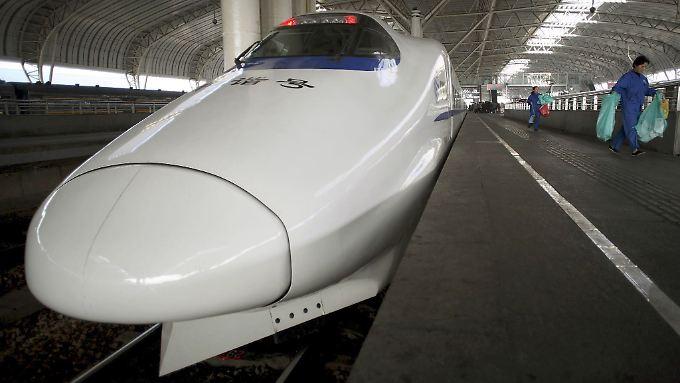 China mondernisiert und baut sein Hochgeschwindigkeitszugnetz immer weiter aus.