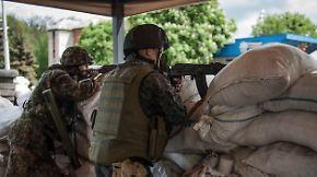 Heftige Gefechte in Ost-Ukraine: Kiew meldet Tote und Verletzte in Slawjansk