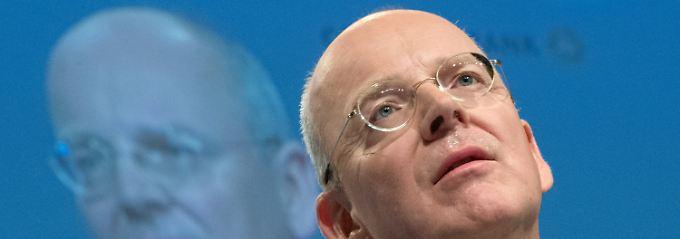 """""""Dennoch ist heute unklar, wie die Commerzbank dabei genau abschneiden wird"""": Coba-Chef Martin Blessing."""