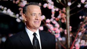 Promi-News des Tages: Tom Hanks muss auf einen Esel umsteigen