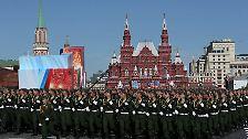 Gefeiert wird der Sieg über Nazi-Deutschland im Jahr 1945.