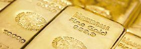 Nachfrageeinbruch bei Barren: Gold und Silber stoppen Talfahrt