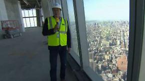 New Yorks höchstes Gebäude: n-tv wirft Blick ins One World Trade Center