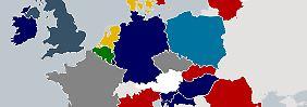 Prognosen aus 28 Staaten: So will Europa wählen